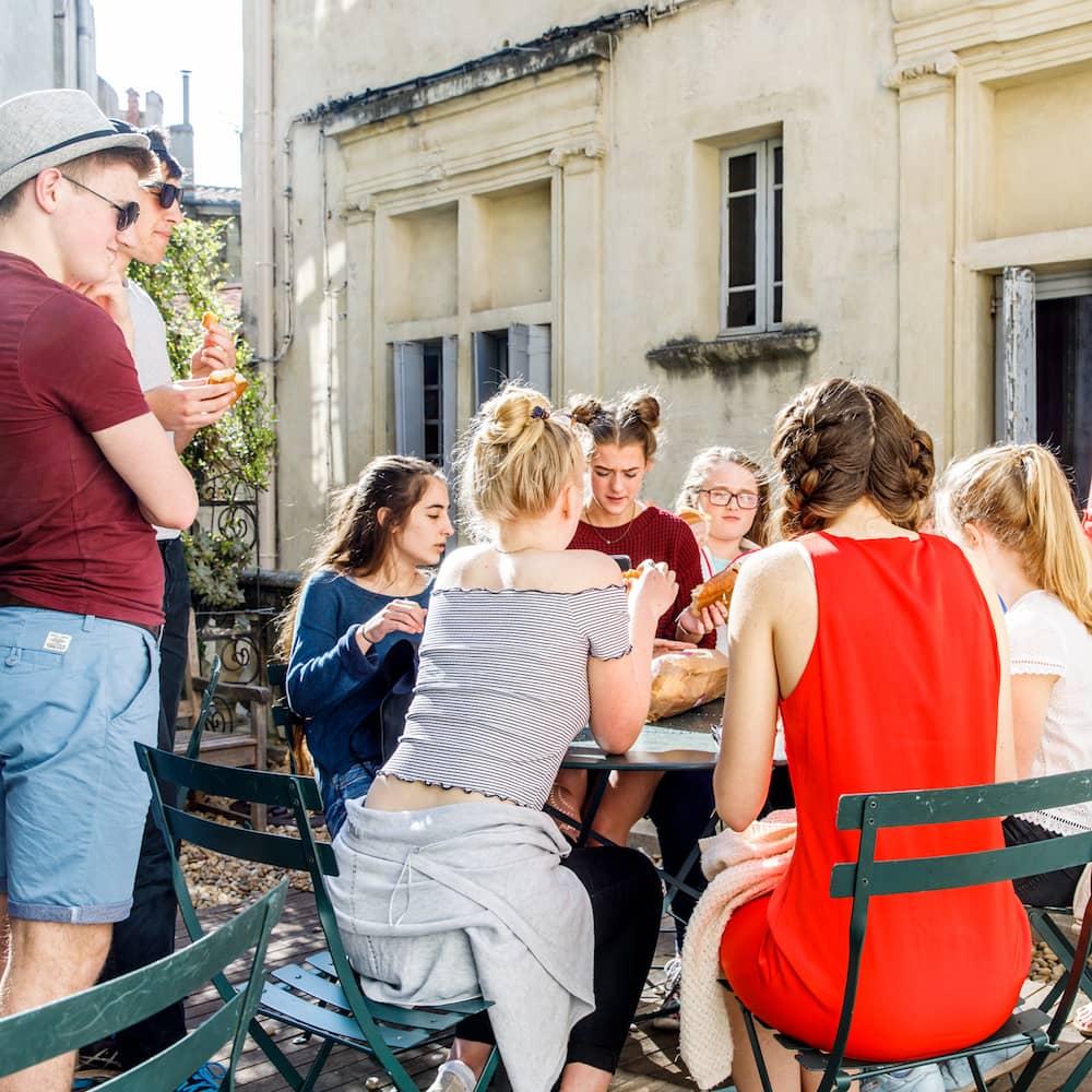 Français pour groupes scolaires